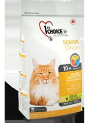 Корм для стареющих и малоактивных кошек, 1st Choice Mature or Less Active, с цыпленком