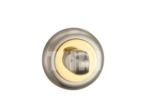 Завёртка К Ручкам  TIXX BK 04, цвет никель матовый/латунь блестящая