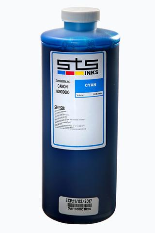 Пигментные чернила STS для Canon Cyan 1000 мл