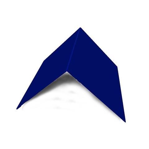 Планка конька плоского 150х150х2000 мм RAL 5002
