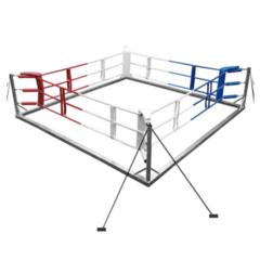 Боксёрский ринг напольный на растяжках 4x4 TOTALBOX Р 58-4