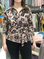 Блузка Laura Canorra 2118 завязка буквы