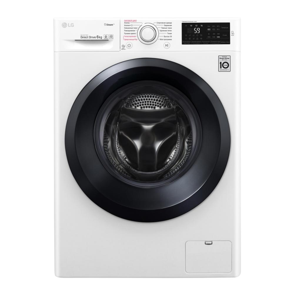 Узкая стиральная машина LG с функцией пара Steam F2J5NS6W фото