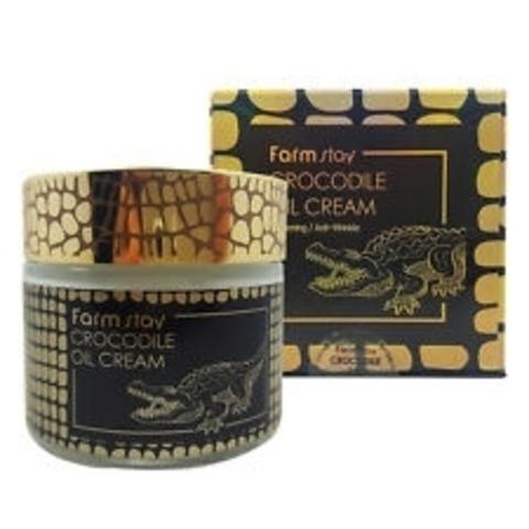 FarmStay Crocodile Oil Cream Питательный крем с жиром крокодила, 70 гр