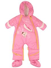 Зимний комбинезон-трансформер для девочек. Отстегивающаяся теплая подкладка.