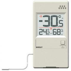 Термогигрометр с выносным термосенсором RST 01595 слоновая кость