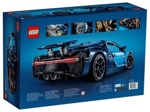LEGO Technic: Бугатти Широн 42083 — Bugatti Chiron — Лего Техник