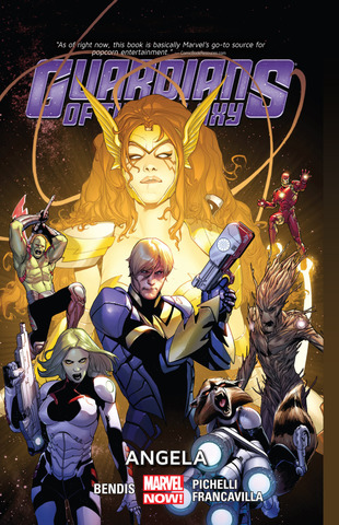 Guardians of the Galaxy TPB #2 Angela (Marvel Now)