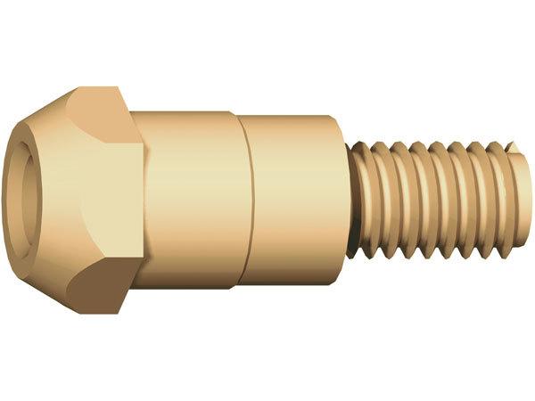 Вставка (свеча) для наконечника M6/M6 26 мм (142.0003)