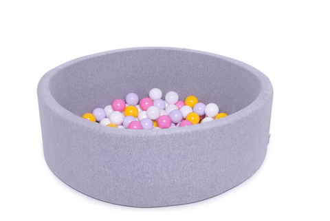 Сухой бассейн Anlipool 100/30см серый комплект №53 Bright flower