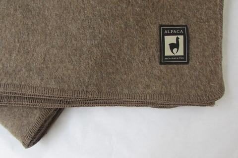 Одеяло INCALPACA Перу из шерсти альпаки OA-3
