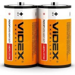 Батарейки Videx R20, D (2/24/288)