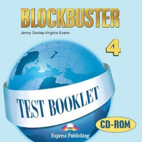 Blockbuster 4. Test Booklet CD-ROM. Intermediate. CD-ROM диск с тестовыми заданиями