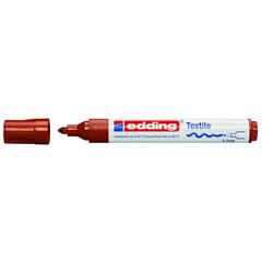 Маркер для текстиля Edding E-4500 коричневый (толщина линии 3 мм)