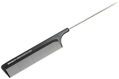 Расчёска Denman Carbon Range с металл. хвостиком