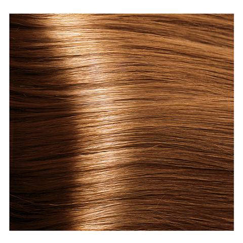 Крем краска для волос с гиалуроновой кислотой Kapous, 100 мл - HY 8.43  Светлый блондин медный золотистый
