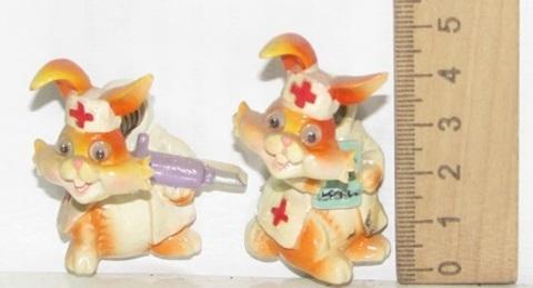 Магнит Полистоун Кролик доктор 290528