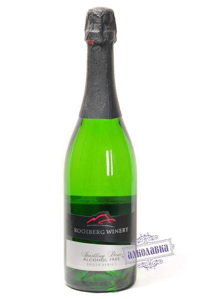 Вино игристое Руиберг Вайнери безалкогольное белое 0,75 (корка)