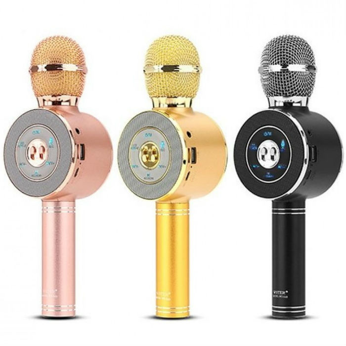 Товары для отдыха и путешествий Беспроводной караоке микрофон WS-668 b31af5b0d5545aa65f1d4870297c57a8.jpg