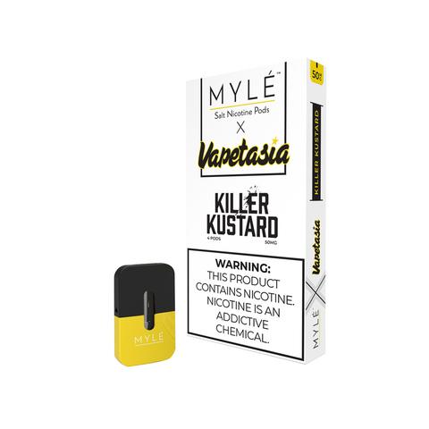 Картридж для MYLE Vapetasia Killer Kustard