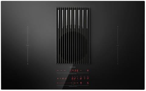 Индукционная варочная панель со встроенной вытяжкой Elica NikolaTesla LIBRA BL/F/83