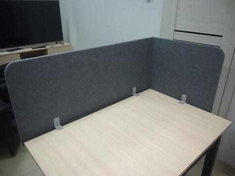 Акустическая офисная перегородка  POLYSTER из полиэфирного волокна 1800x550x23mm