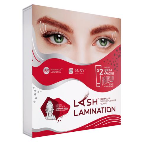 Набор для ламинирования ресниц SEXY LAMINATION