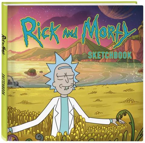 Скетчбук Рик и Морти. Рик в поле