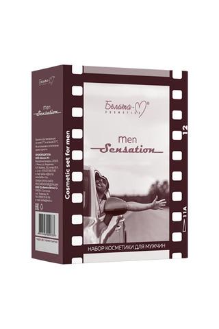 Белита-М Men Sensation Подарочный набор (бальзам после бритья + шампунь)