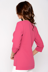 <p>Оригинальная блуза, которая точно вызовет белую зависть у подруг. Шикарно, необычно, современно. Рекомендуем. (Длина по спинке: 44-62см; 46-63см; 48-64см; 50-65см; 52-66см;)</p>