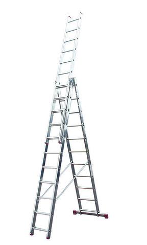 Трехсекционная универсальная лестница CORDA 3х14