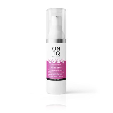 Лосьон для рук ONIQ   с ароматом лотоса и бамбука, 30 мл
