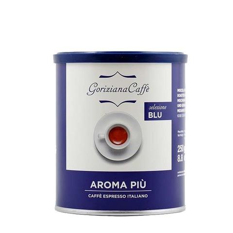 Кофе молотый Goriziana Caffe Aroma PIU, 250 г (жестяная банка)