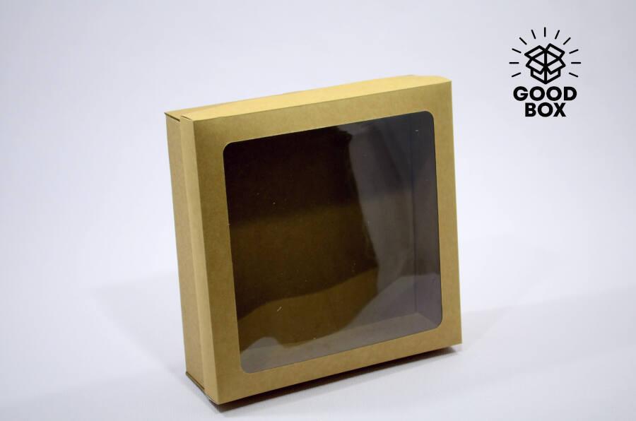 Коробка картонная с окошком