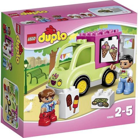LEGO Duplo: Фургон с мороженым 10586 — Ice Cream Truck — Лего Дупло