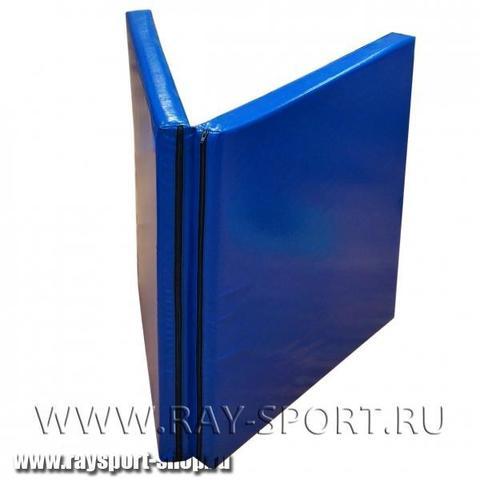 """М711.Т мат гимнастический """"книжка"""" без ручек, толщина 8см 1 х 2м"""