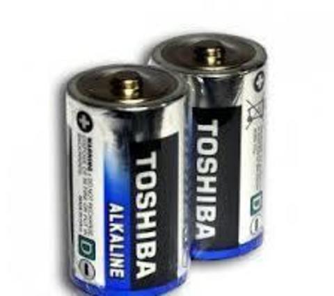 Батарейки Toshiba Alkaline LR20, D (2/20)