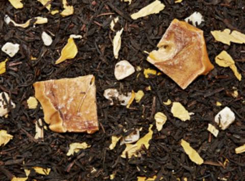 Черный чай Хурма