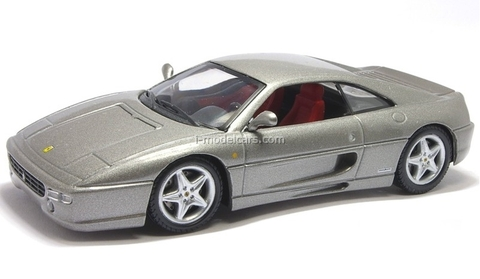 Ferrari F355 Berlinetta gray 1:43 Eaglemoss Ferrari Collection #26