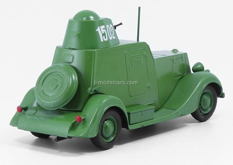 BA-20 military armored car 1:43 DeAgostini Auto Legends USSR #124