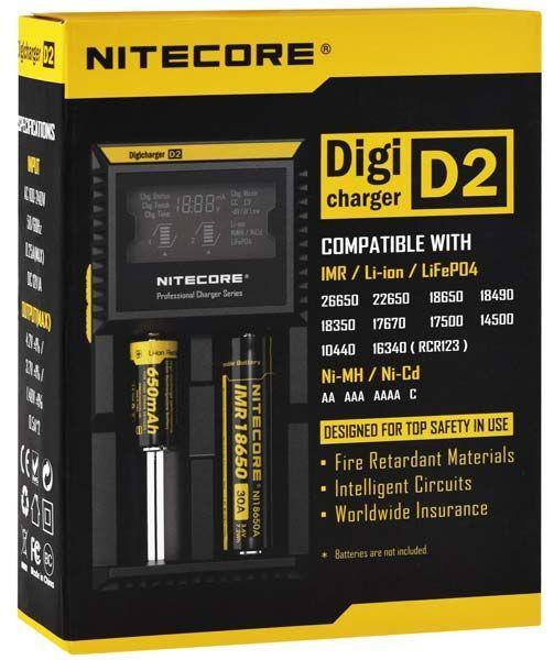 зарядное устройство NiteCore Digicharger D2 стоимость
