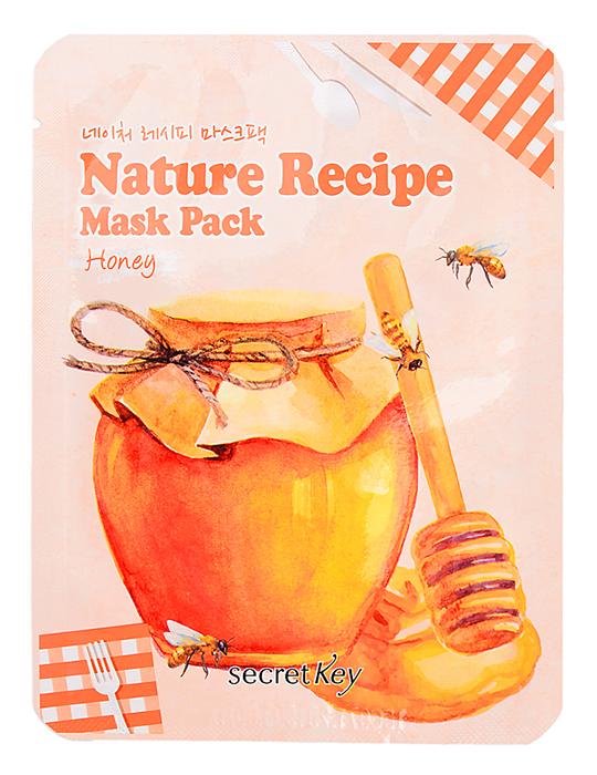 Маска с медом Secret Key Nature Recipe Mask Pack Honey