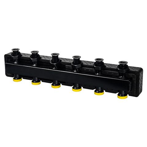 Коллектор котельной разводки STOUT - Ду25 на 2(3) контура (в теплоизоляции)