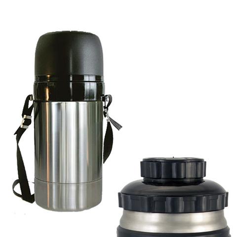 Термос универсальный (для еды и напитков) Амет DU Дорожный (1,5 литра) на ремне