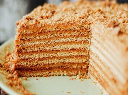 Безглютеновый торт Медовик
