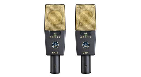 AKG C414 XLII MATCHED PAIR подобранная стерео пара студийных микрофонов