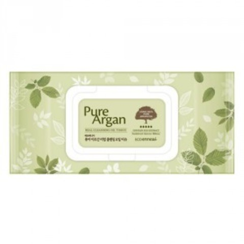 Ecoennea Pure Argan Real Cleansing Oil Tissue 70
