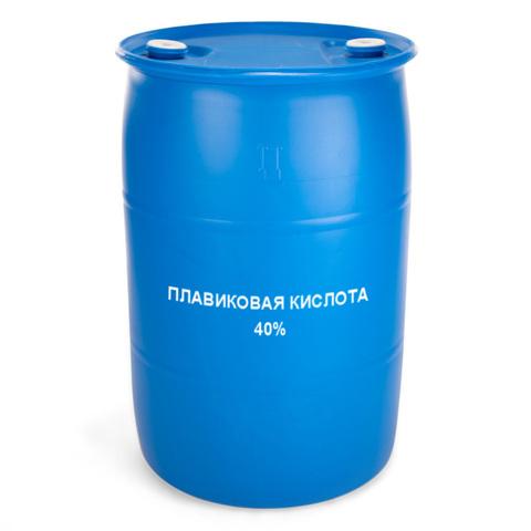 Плавиковая (фтористоводородная) кислота 40%  HF