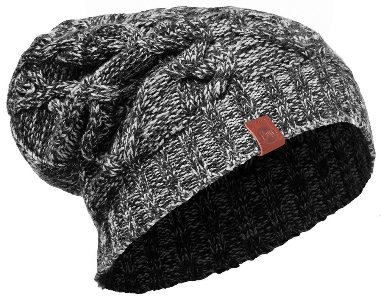 Шапки крупной вязки Вязаная шапка Buff Nuba Graphite 2008.901.10.jpg
