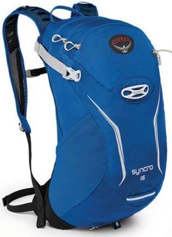 Картинка рюкзак велосипедный Osprey Syncro 15 Blue Racer
